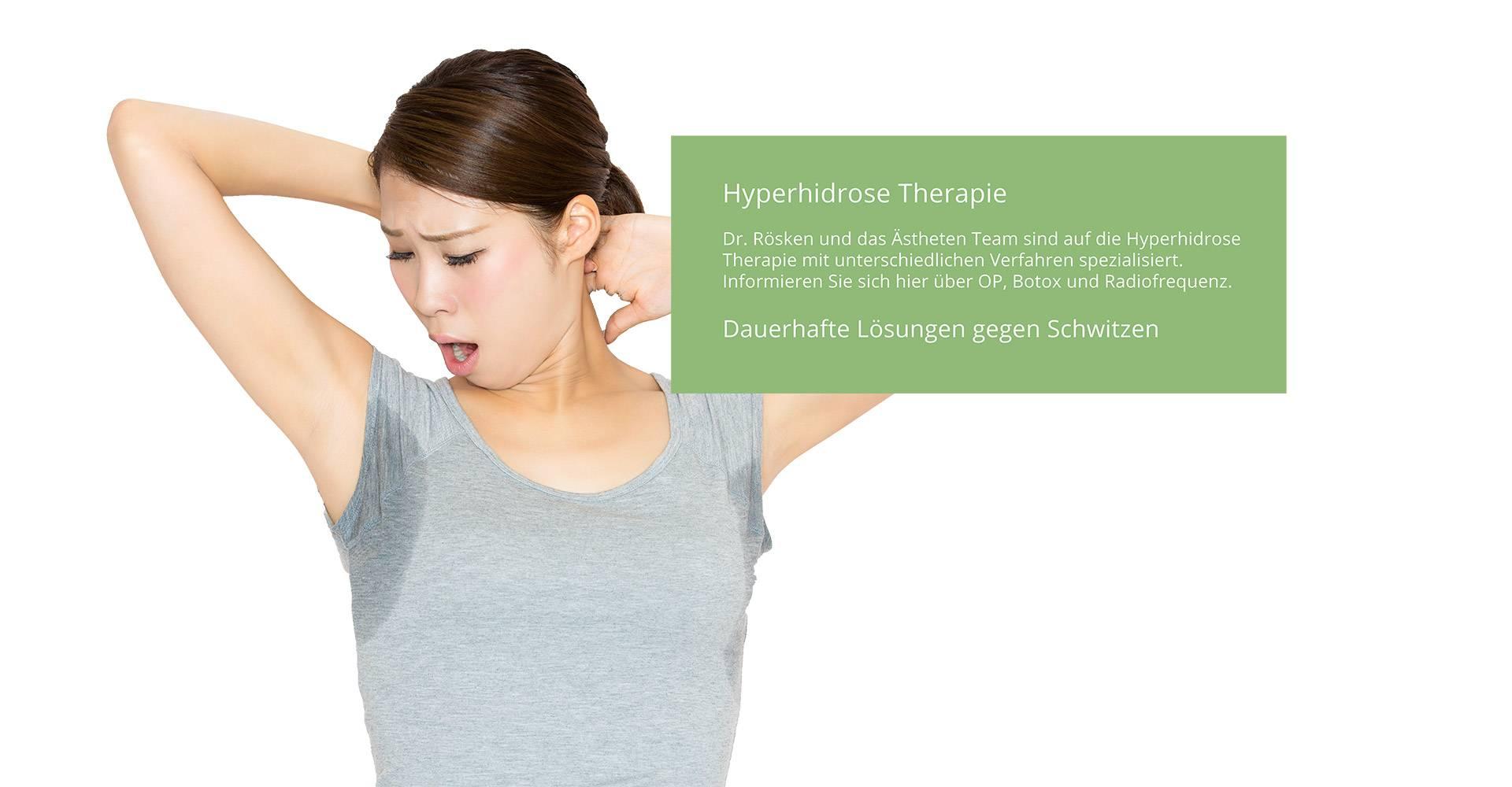 Hyperhidrose behandeln mobil