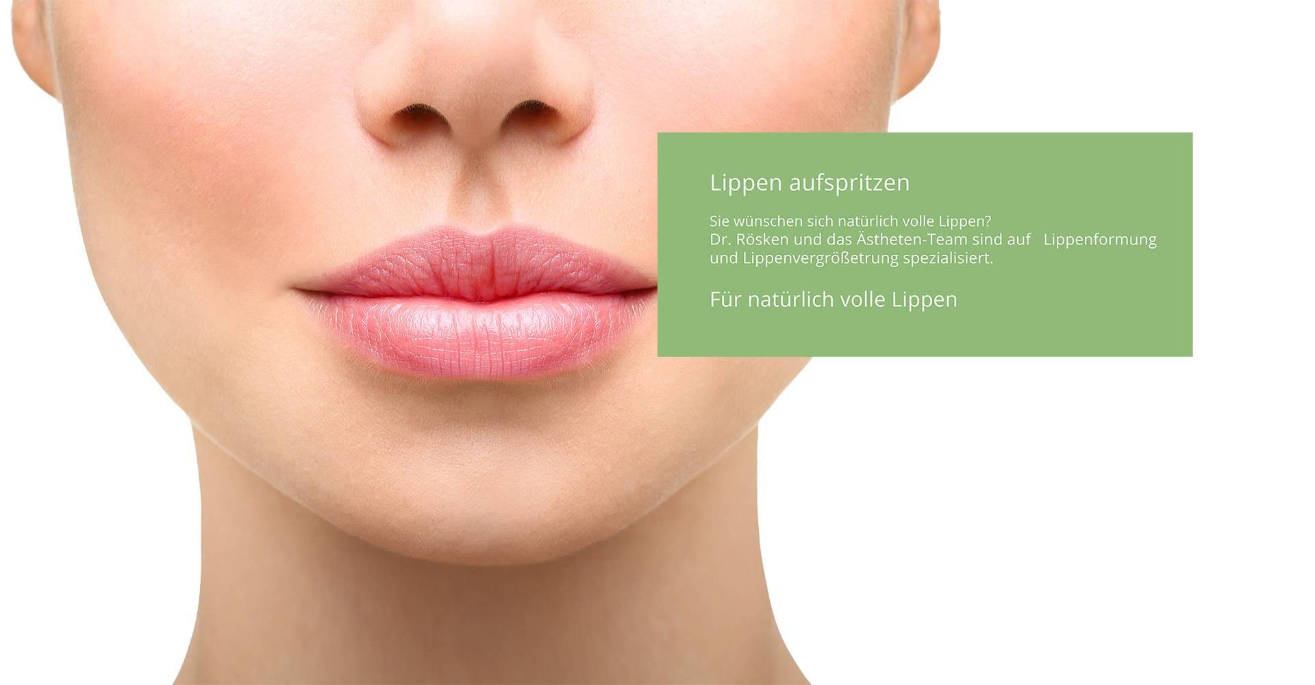 Lippenformung München