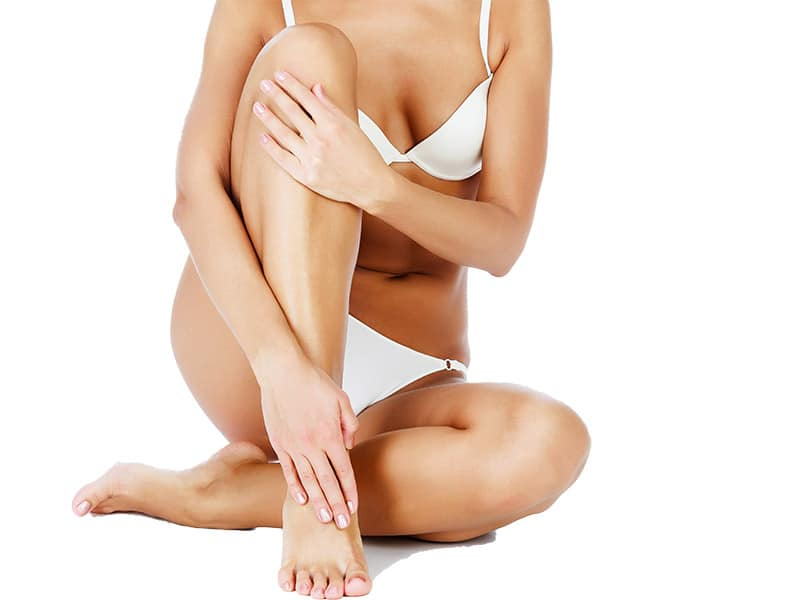 Feste Haut mit Bodyforming