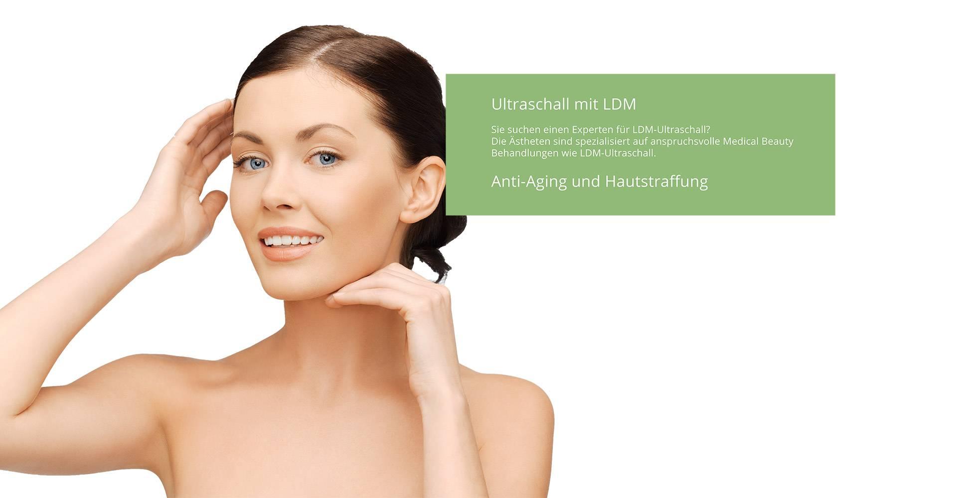 LDM Ultraschall gegen Falten