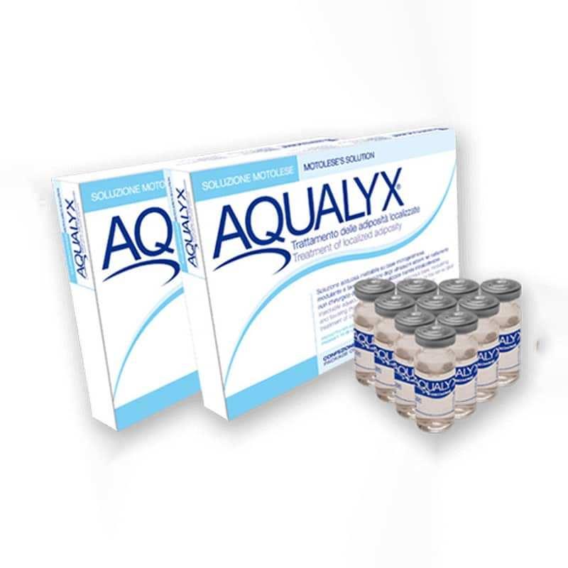 Schlanke Oberarme mit Aqualyx